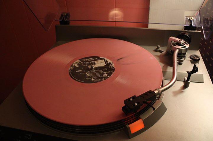pink vinyl